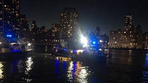 Liberty tour helicopter crashes in New York City's East River, leaving five passengers dead and one survivor.