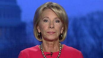 Secretary of Education DeVos to chair a commission on school safety.