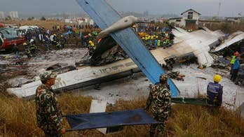 Plane veered off the runway on landing. Some experts are pointing to mechanical failure.