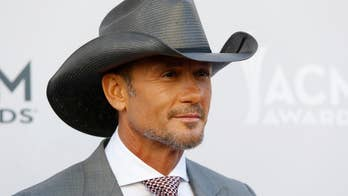 Country singer Tim McGraw collapsed to his knees on stage. A representative told Fox News he was suffering from dehydration.
