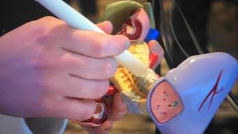 Researchers develop pen for cancer detection.