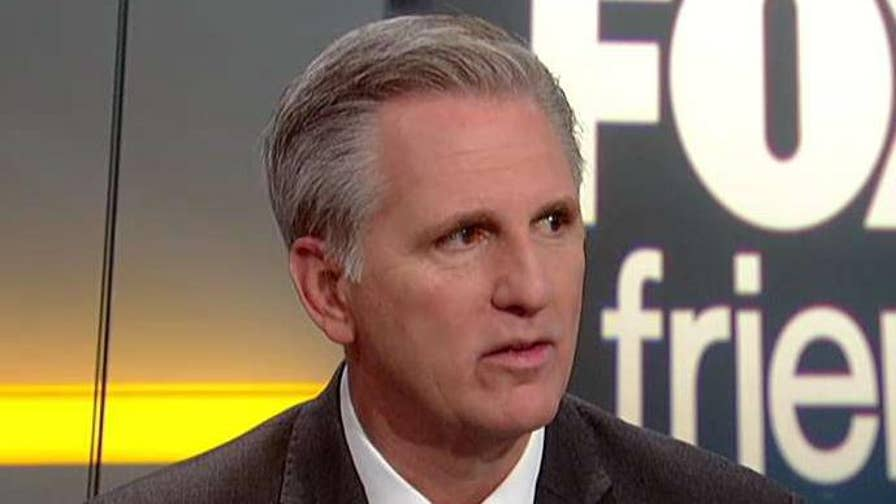 House Majority Leader goes on 'Fox & Friends' to discuss the DOJ's lawsuit against California, tariffs and the Pennsylvania special election.
