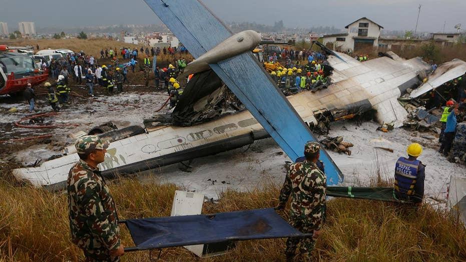 Plane crash in Nepal kills at least 49 people