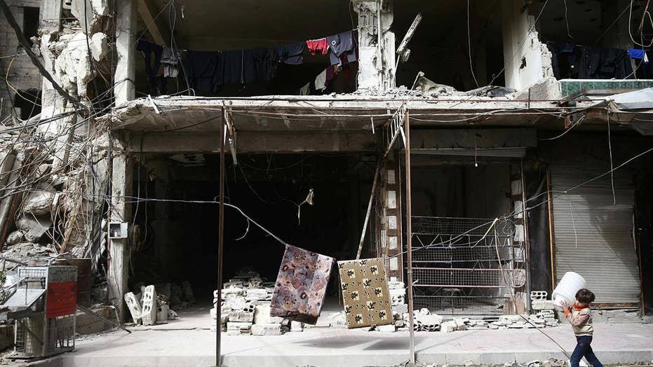 Catastrophic situation for rebel-held city in Syria