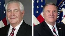 President Trump fires Secretary of State Rex Tillerson, names CIA Director Mike Pompeo as replacement.