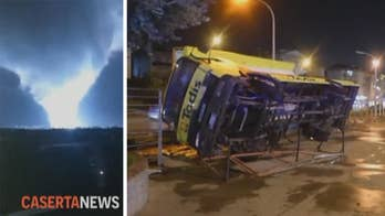 Tornado in Italy damages buildings, injures several people