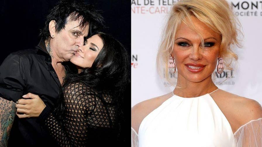 Rocker Tommy Lee alleges he was assaulted by his son.  Lee's ex-wife, Pamela Anderson, slammed his fiancée, Brittany Furlan, claiming she enabled his drinking. Now Furlan is firing back.