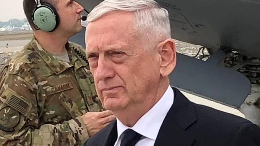 Defense secretary arrives in Kabul for an unannounced trip, says elements of the Taliban are clearly interested in talking to the Afghan government.