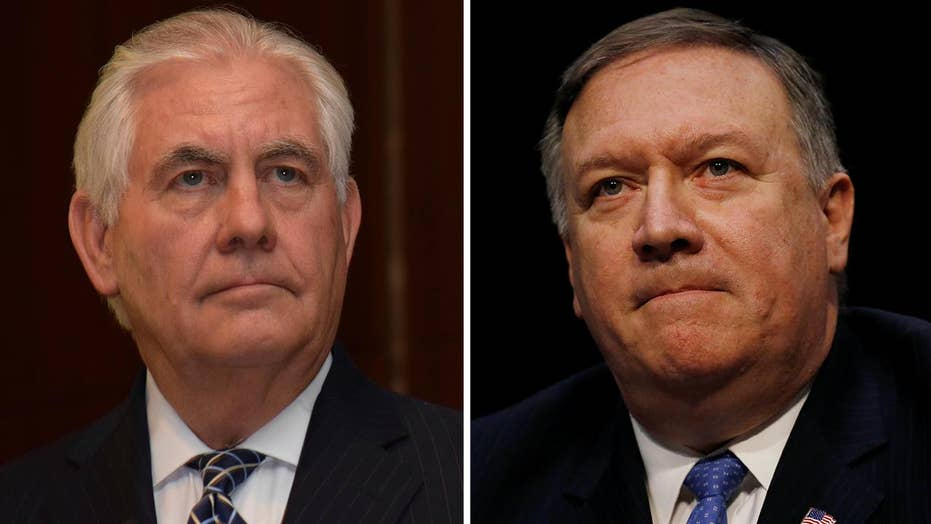 President Trump to replace Tillerson with Pompeo