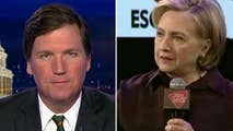 Tucker: Hillary Clinton's latest comments in her blame game tour for her 2016 election loss sums up the Left's view of America in 2018: A bigoted middle class, holding back progress, that doesn't have legitimate views or aspirations. They're racist, dumb people who have only ugly gut reactions. #Tucker
