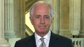 "Senate Foreign Relations Committee Chairman Bob Corker on Sunday dismissed criticism about Republicans ""ramming"" Mike Pompeo's nomination as secretary of state through the chamber, saying Senate Democrats have blocked the ""highly qualified"" Pompeo from getting the post just to appease their anti-Trump base."