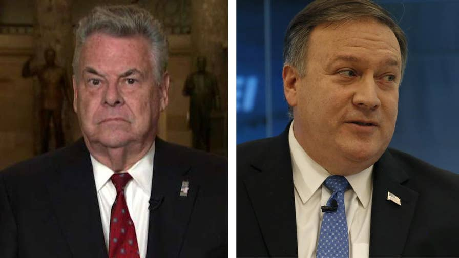 CIA Director Mike Pompeo was named by President Donald Trump as his choice to lead the State Department. Rep. Pete King joins 'The Story' to weigh in on Trump's decision, explaining in detail why Pompeo is the absolute best candidate for the role.
