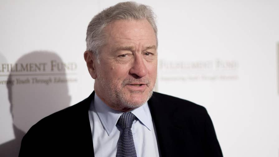 On the same night the president was in Los Angeles for a fundraiser, actor Robert De Niro roasted Trump at a benefit dinner for the Fulfillment Fund, slamming his sense of humanity and Trump University.