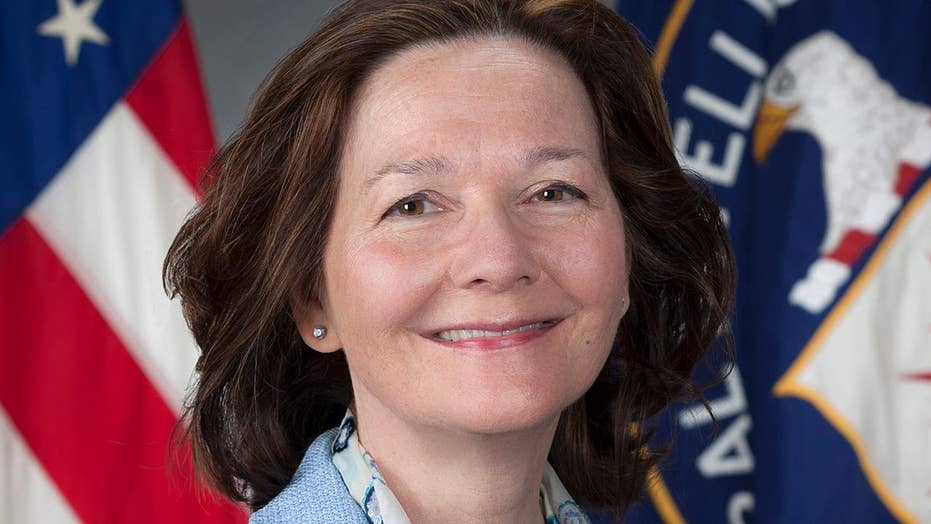 President Trump names Gina Haspel as the new CIA director