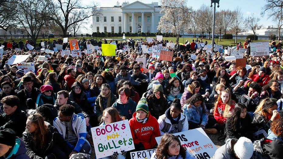 Students stage nationwide walkout to protest gun violence