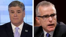 Fox News is reporting that Attorney General Jeff Sessions is reviewing a recommendation from the FBI's Office of Professional Responsibility to give Andrew McCabe the axe.