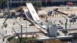 As reports emerged about an engineer's warning of cracks days before Thursday's calamitous collapse of a pedestrian bridge in Florida, a U.S. senator wants to find out exactly who was behind the construction that may have led to the structure's fatal failure.