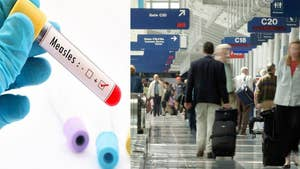 A measles warning for travelers at three different airports in the U.S. Airports in Detroit, Memphis and Newark, New Jersey may have been exposed to measles after cases were confirmed in two international travelers.