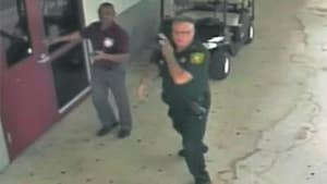 Raw video: Footage from surveillance cameras shows deputy Scot Peterson's actions during massacre at Marjory Stoneman Douglas High School on Valentine's Day.
