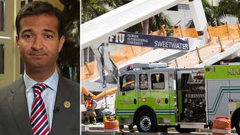 Florida congressman says federal government has vowed to assist with investigation into pedestrian bridge collapse at Florida International University.