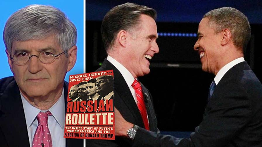 Michael Isikoff's 'Russian Roulette' claims Obama's 2012 campaign used Fusion GPS to research Mitt Romney.