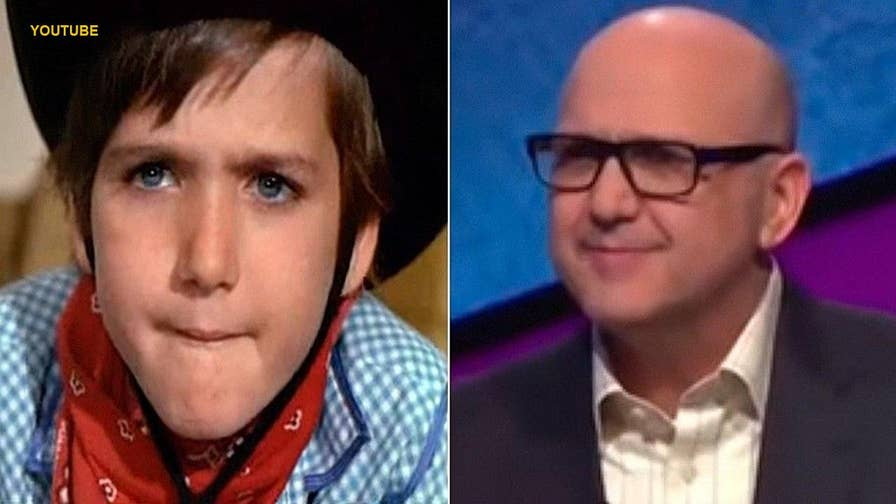 Social media users were quick to point out that a 'Jeopardy!' contestant on Tuesday night's episode was 'Willy Wonka & the Chocolate Factory' star Paris Themmen, better known as Mike Teevee.
