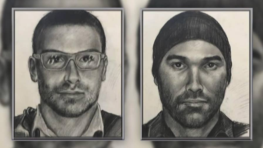 Authorities release sketches of suspect sought for impersonating a police officer and sexually assaulting women.