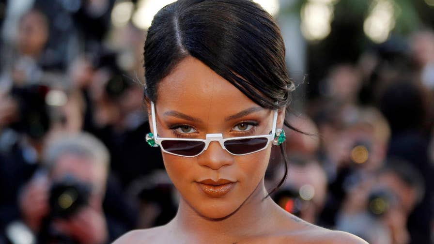 Top Talkers: Singer blasts the social media platform for 'tone deaf' ad asking users if they would rather 'snap Rihanna' or 'punch Chris Brown.'