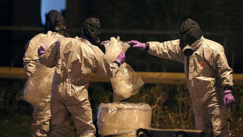 Britain to expel 23 Russian diplomats over nerve gas attack