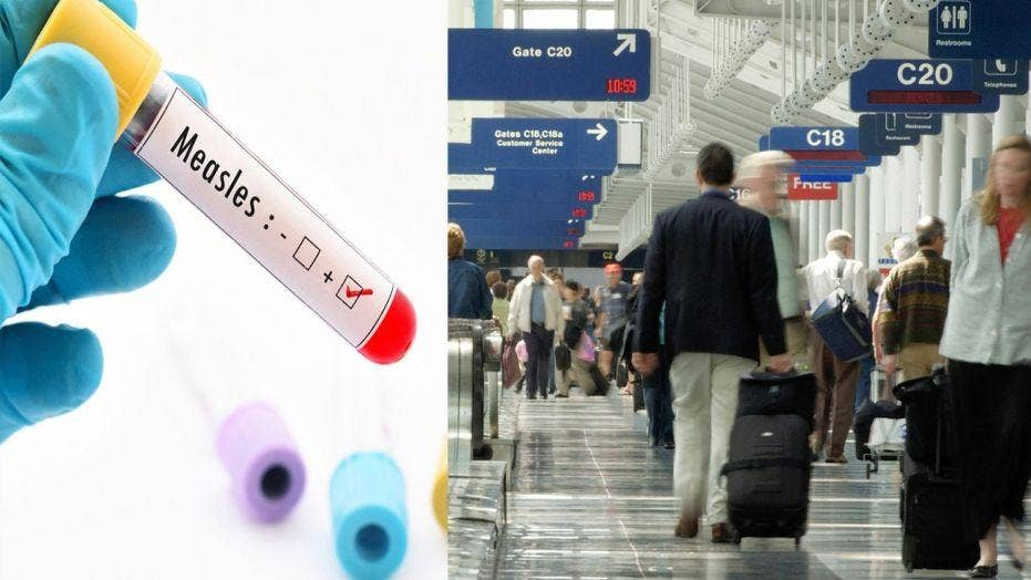 Travelers beware: Potential measles outbreak at three major U.S. airports