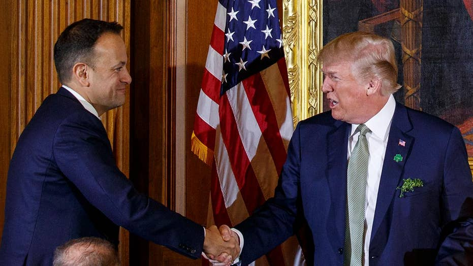President Trump makes remarks at Friends of Ireland luncheon