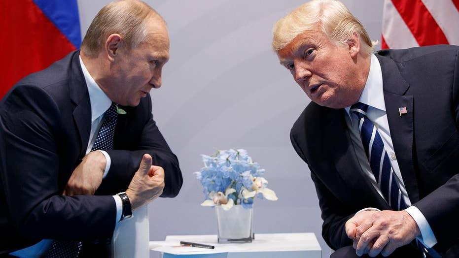 Trump administration strategy against Putin aggression