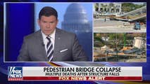 On Thursday, a pedestrian bridge collapsed in South Florida leaving some dead and many injured. Bret has the updates on the Russian collusion investigation and the panel discuss what's next for Democrats.