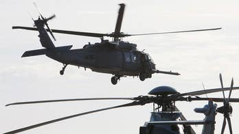 Helicopter clipped a power line causing the crash. Lucas Tomlinson reports from the Pentagon.