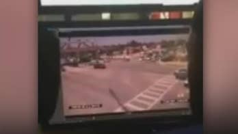 Raw video: CCTV camera captures moment the pedestrian bridge at Florida International University collapsed.