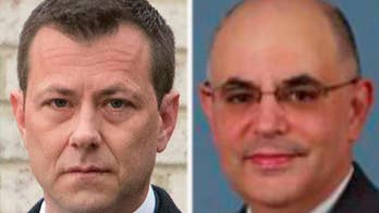 The revelations about U.S. District Court Judge Rudolph Contreras are found in a new batch of text messages between Strzok and his FBI paramour, Lisa Page; chief intelligence correspondent Catherine Herridge reports from Washington.