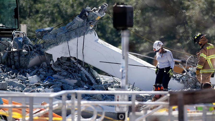 Authorities continue to remove debris and investigate the collapse in Miami. Steve Harrigan reports from Miami, Florida.