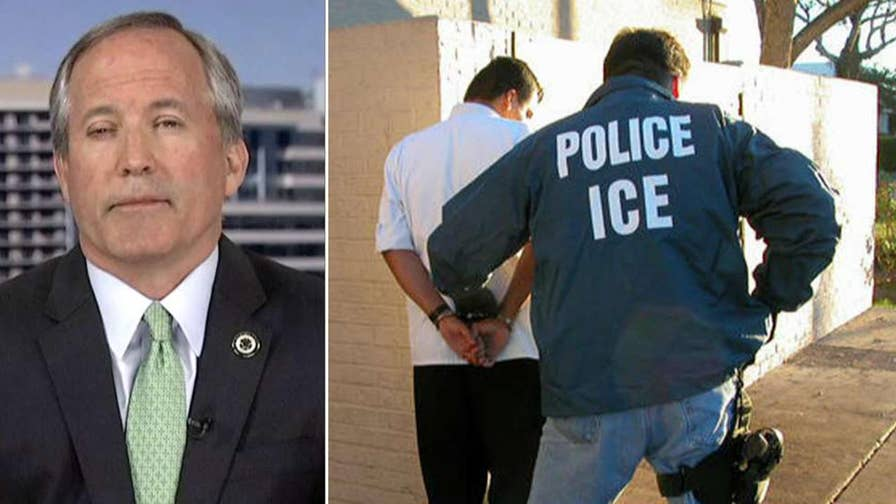 Ken Paxton on implementation of sanctuary city ban that prohibits local police from limiting cooperation with federal immigration agents.