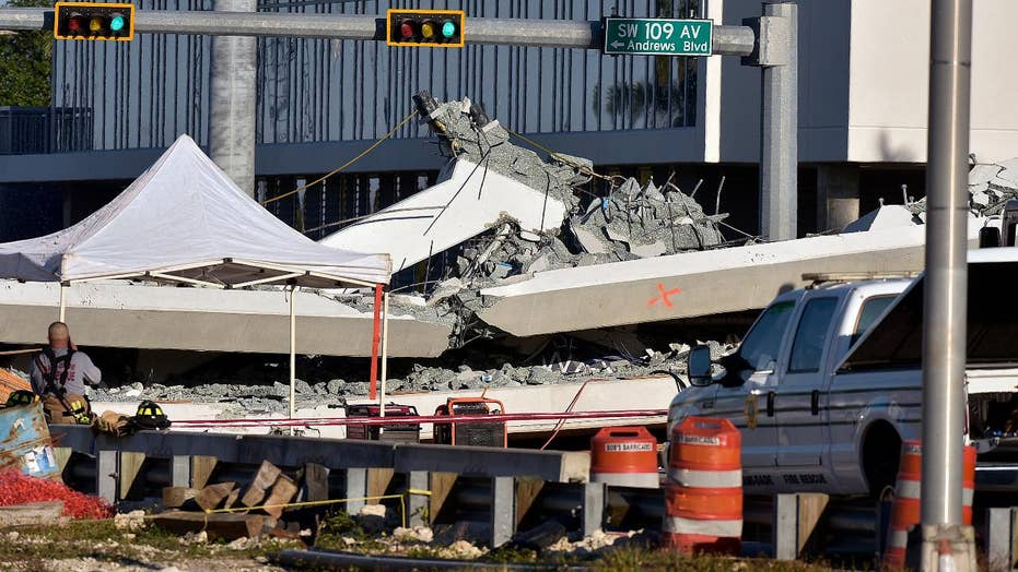 6 dead, 10 hurt in Miami bridge collapse