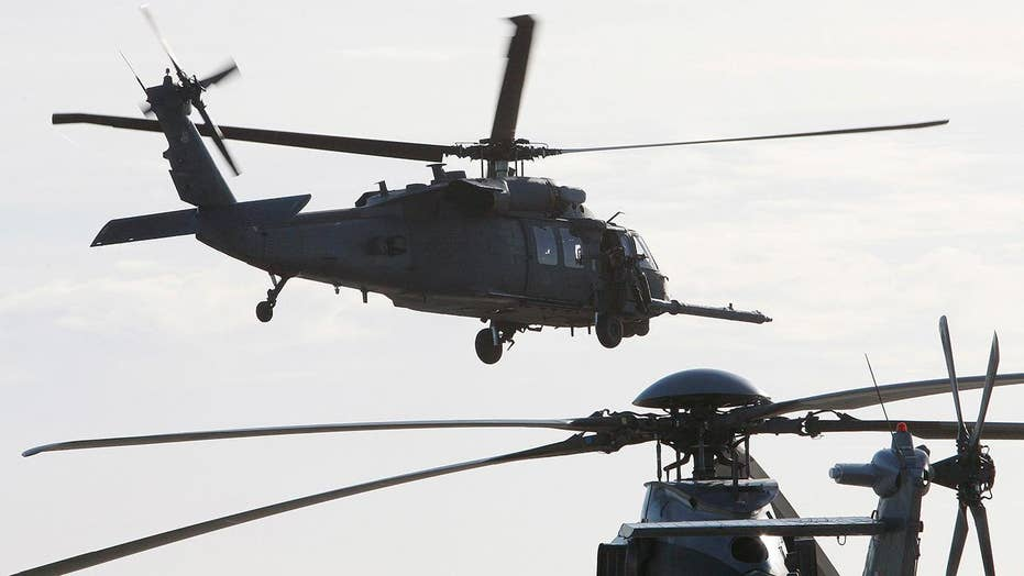 7 killed in US military helicopter crash near Syrian border