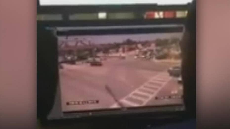 Moment FIU bridge collapsed caught on camera