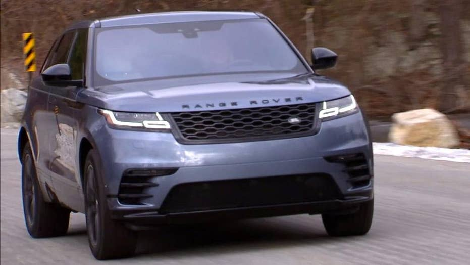 The 2018 Range Rover Velar is a sexy utility vehicle