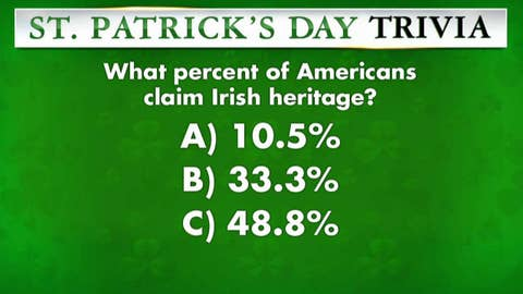 St. Patrick's Day trivia challenge on 'Fox & Friends'