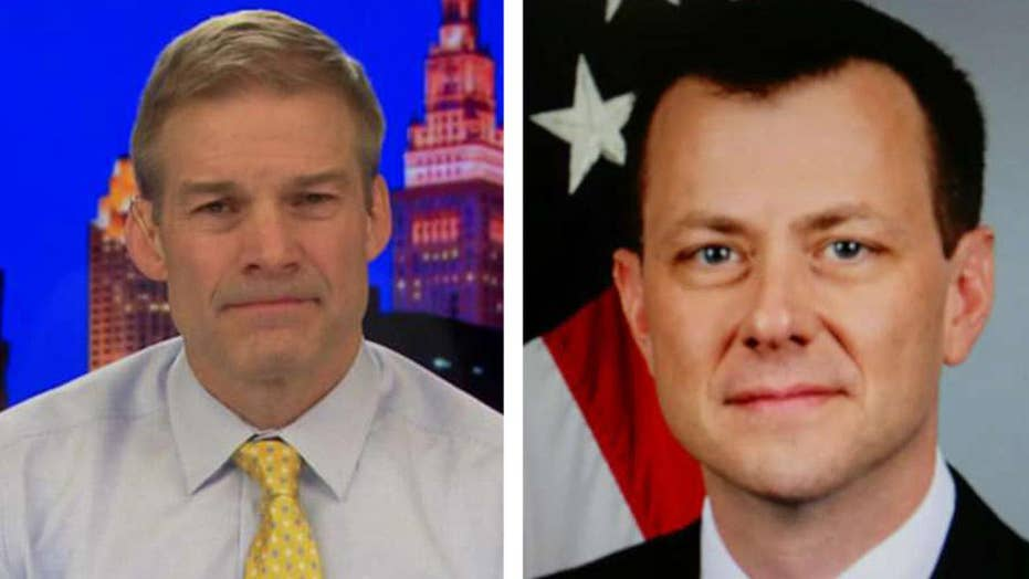 Jim Jordan: Why did DOJ hide Strzok's link to federal judge?