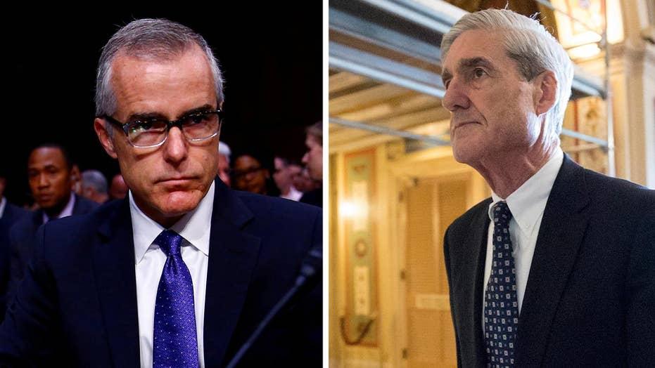 How will Mueller use McCabe's memos on Trump?
