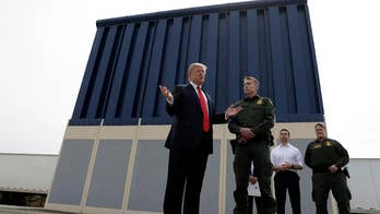 President Trump inspects prototypes for the wall he wants built on the U.S. border with Mexico; reaction on 'The Greg Gutfeld Show.'