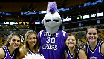 College of the Holy Cross drops all knight imagery; radio talk show host Lawrence Jones reacts.