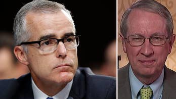 Andrew McCabe has called his firing an attempt to discredit the Mueller probe; Rep. Bob Goodlatte shares his reaction on 'Sunday Morning Futures.'