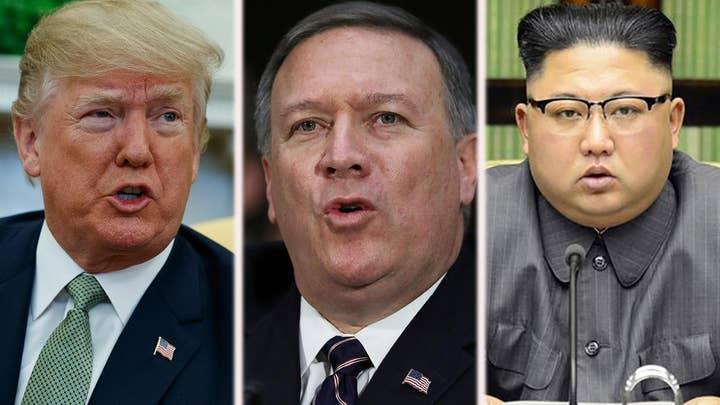Eric Shawn reports: Pres. Trump, Pompeo and Kim Jong Un