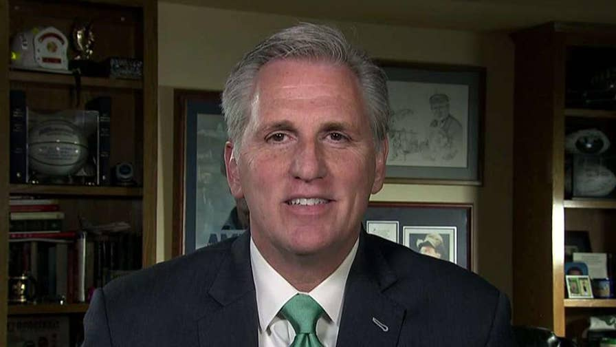 Fired FBI official Andrew McCabe has given Mueller memos about Trump; House Majority Leader Kevin McCarthy responds to the decision to fire McCabe on 'Justice with Judge Jeanine,' as well as his push for a second special counsel.